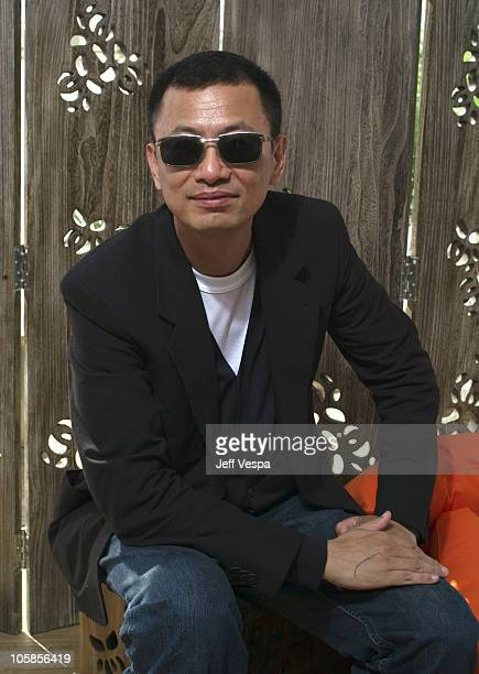 Wong KarWai during 2007 Cannes Film Festival Wong KarWai Portraits at La Plage Noga Beach in Cannes France