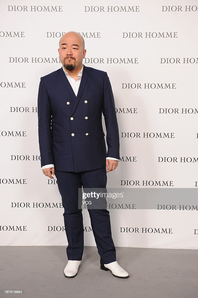 Wong Wy Man attends the Dior Homme F/W 2013 Menswear Collection Show on April 25, 2013 in Beijing, China.
