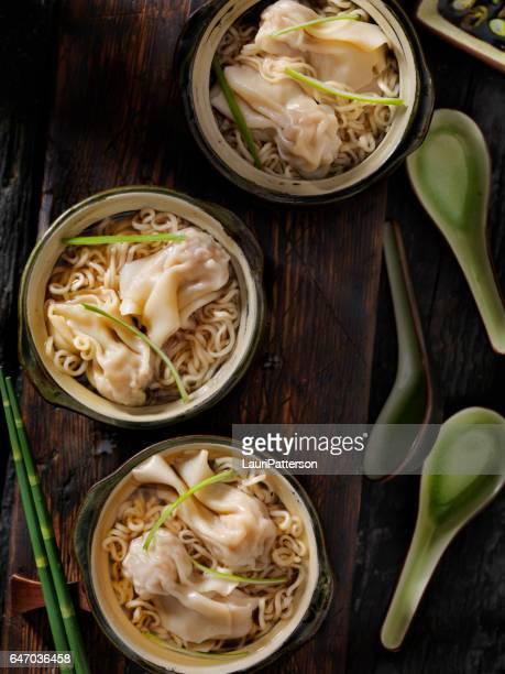 Wonton, Dumpling Soup with Noodles
