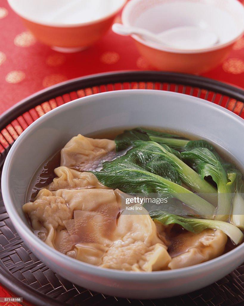 Wonton Soup : Stock Photo