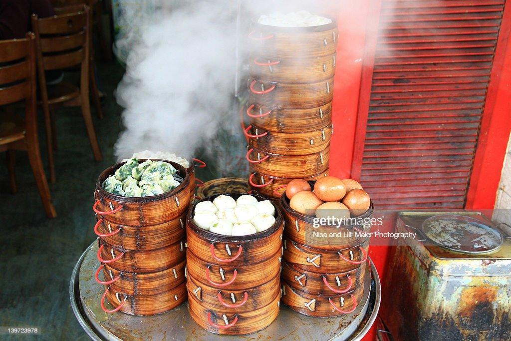 Wontons in Guangzhou, China : Stock Photo