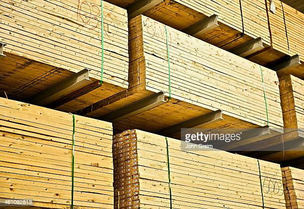Wood building supplies