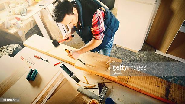 Holzschnitzerei.