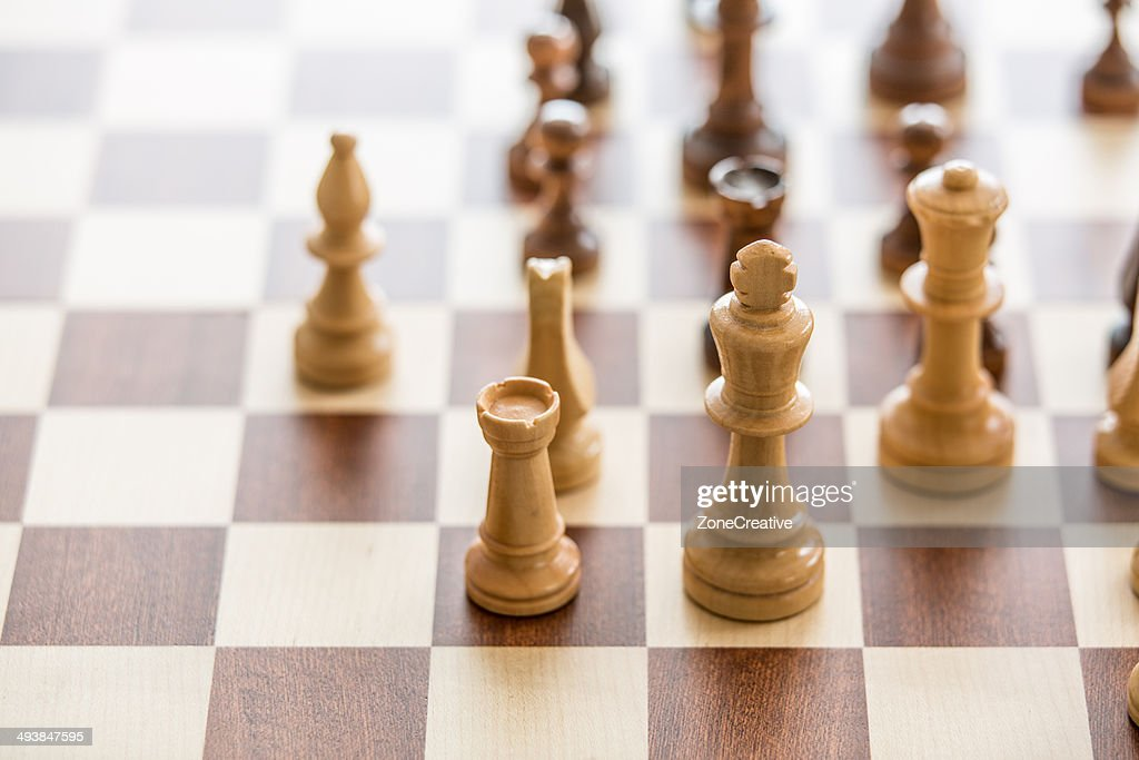 Wood chess