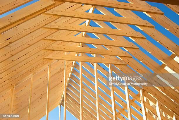 Wood Construction Background