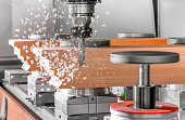 Cutting wood with a cnc milling machines