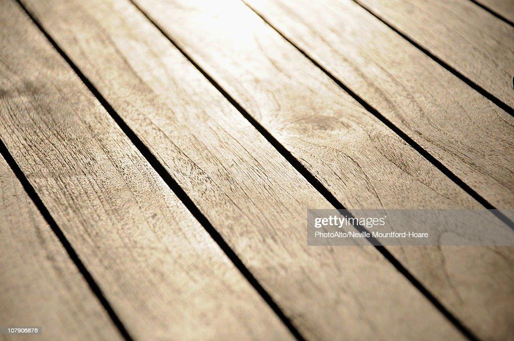 Wood floor, close-up : Stock Photo