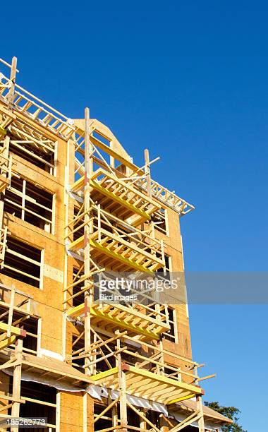 Wood Frame Construction Site