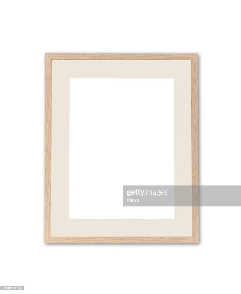 Wood frame : Bildbanksbilder