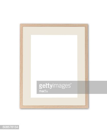 Wood frame : Stockfoto