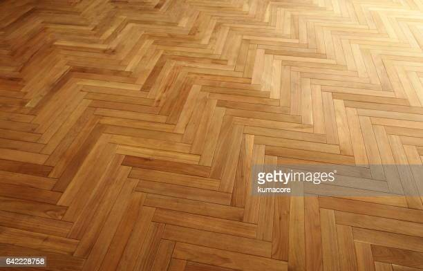 Wood grain of the floor