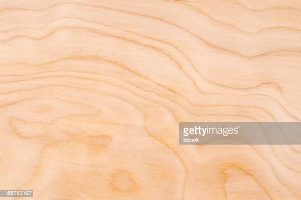 Wood Grain Texture Background: Birch Ply