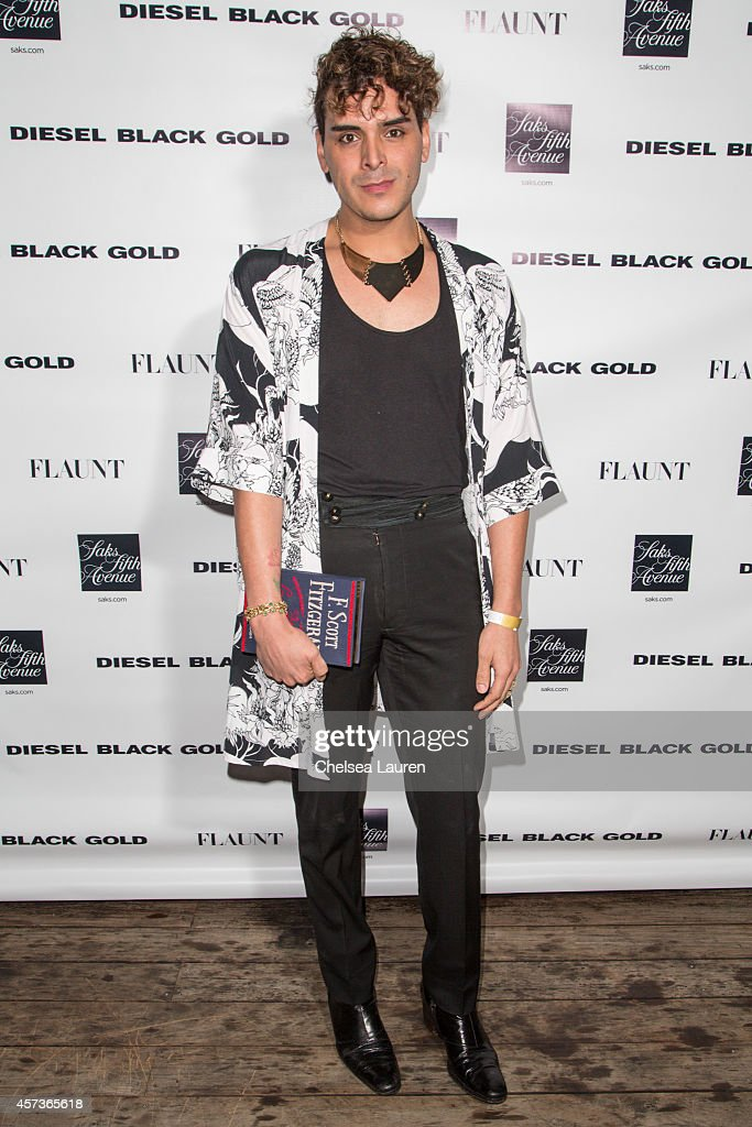 H Wood Group partner Markus Molinari attends the Diesel Black Gold at Saks Fifth Avenue Launch and Flaunt Magazine 15th anniversary celebration party...