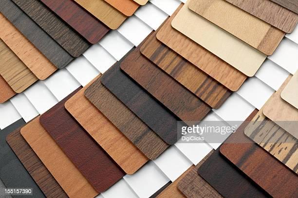 Wood Melamine Swatches