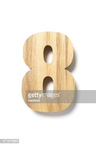 Wood Number Eight
