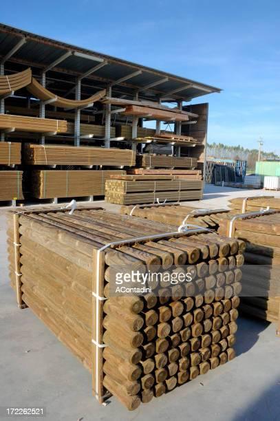 pack bois et à poutres cantilever