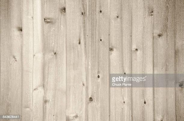 Wood planking on barn