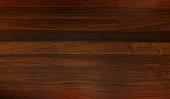 Brazilian Walnut hardwood floor planks.
