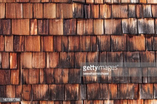 Wood shingle : Bildbanksbilder