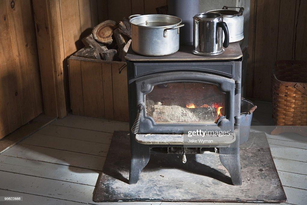 Wood Stove : Stock Photo
