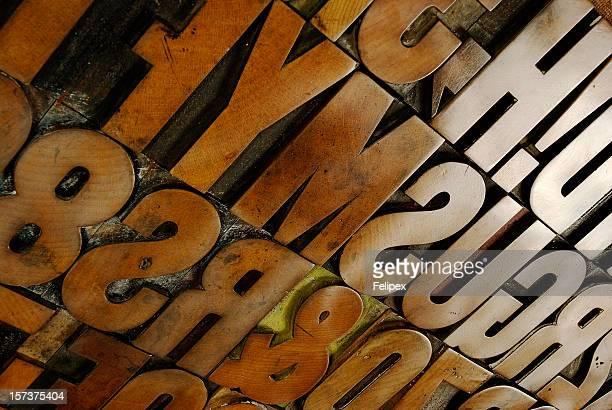 Wood type board extravaganza