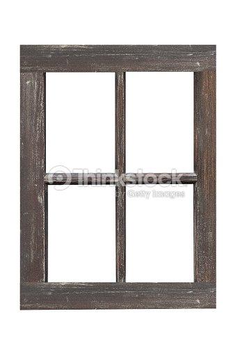 Wood Window Frame Isolated On White Background Stock Photo Thinkstock