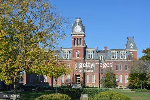 Woodburn Hall in West Virginia University