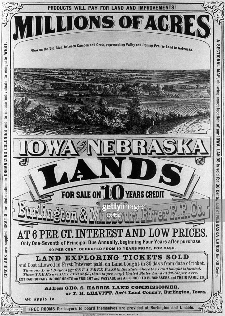 Advertisement For Acres Of Land In Iowa And Nebraska Pictures - Is nebraska in the united states