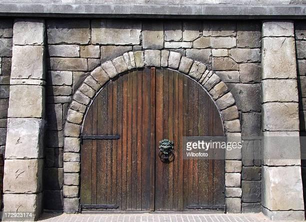 Médiévale de porte