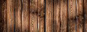 Wooden Background Panorama