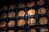 Barrel Brandy, Wooden Barrel Alcohol, Wooden Barrel, Aged Alcohol, Alcohol Warehouse, Storage Alcohol, Wine, Alcohol Container, Cellar.Cellar Alcohol