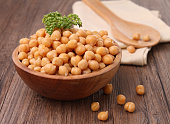 chickpea and parsley