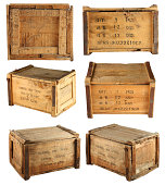 Wooden box collection1