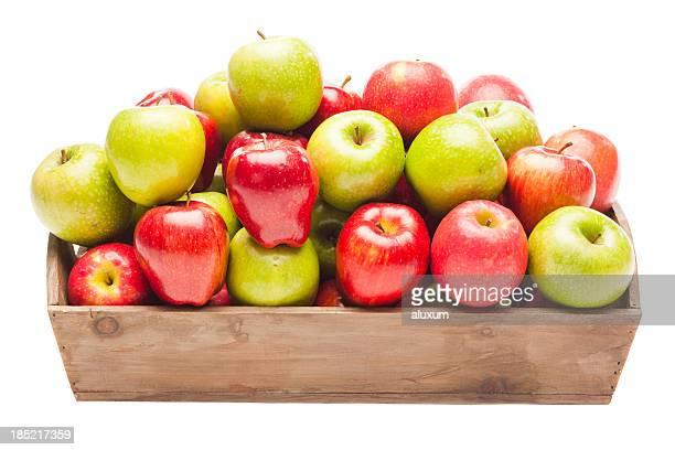 Pommes rouges et vertes