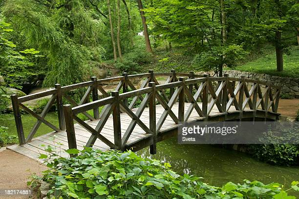 Holz-Brücke
