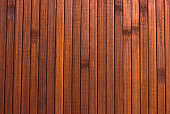 Wooden brown background. Smooth polished wood