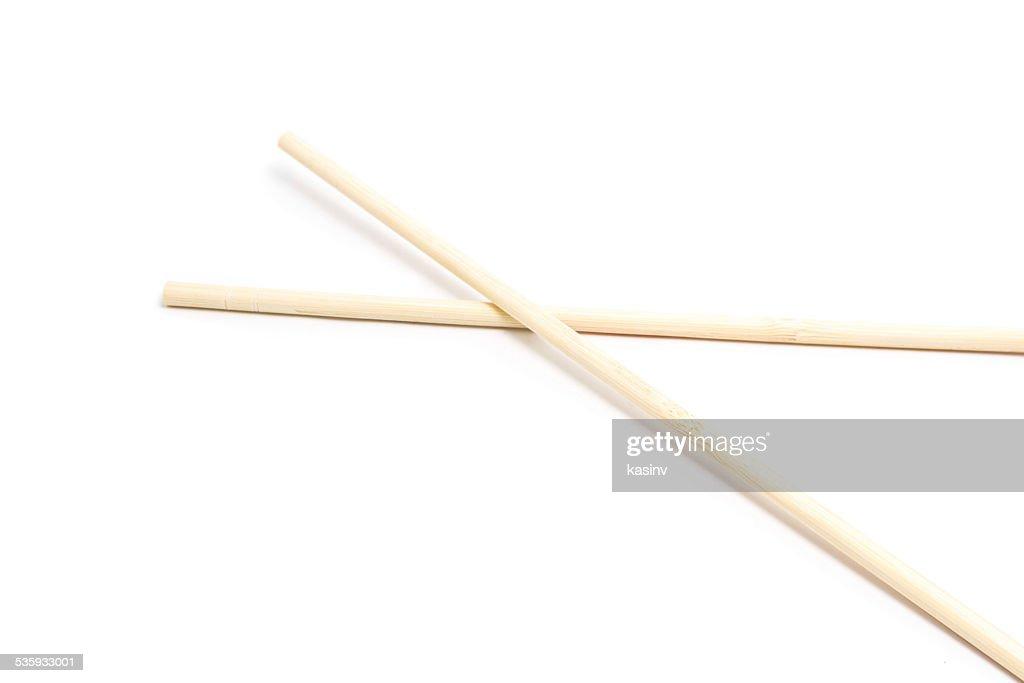 wooden chopsticks : Stock Photo