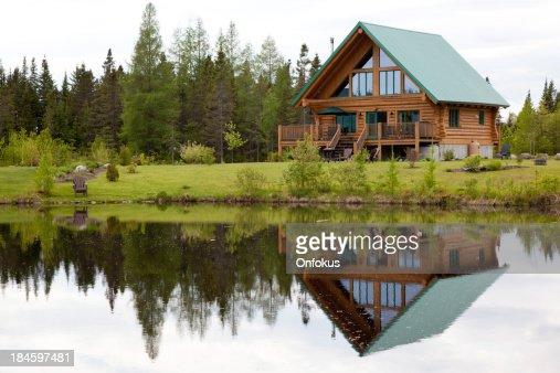 Wooden Cottage, Log Home, Log Cabin