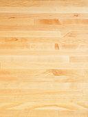 Wooden cutting board surface