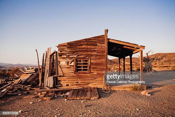 Wooden Desert House