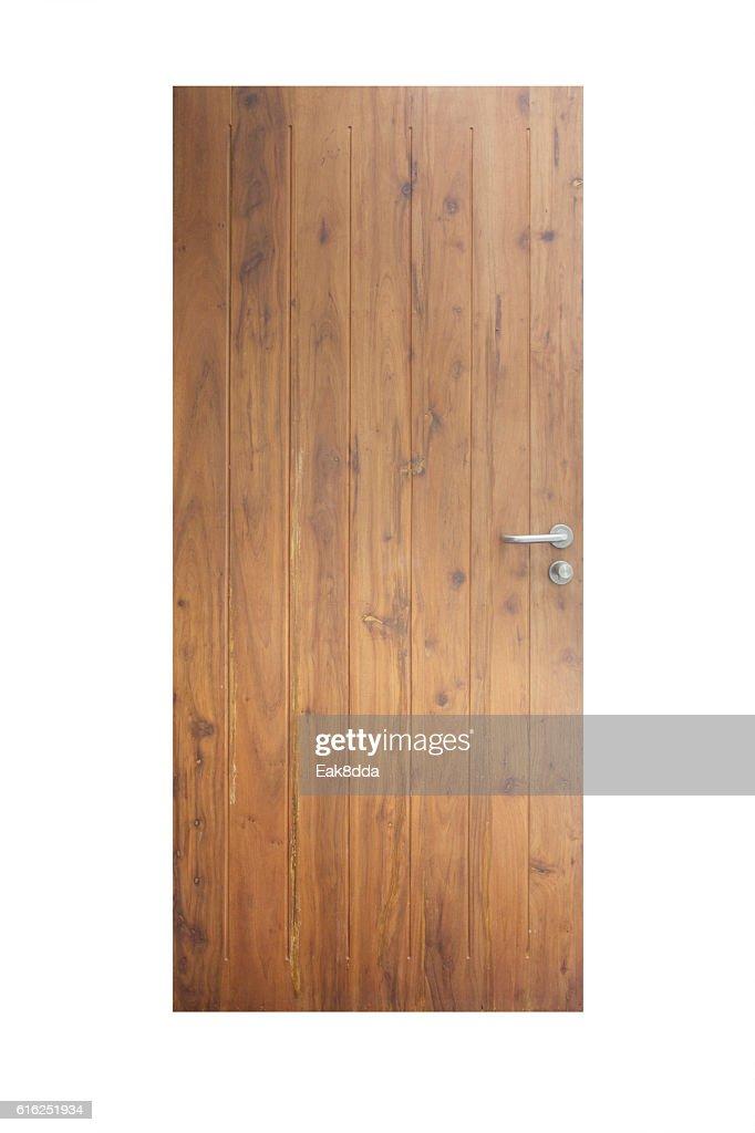 Wooden door : Stock Photo