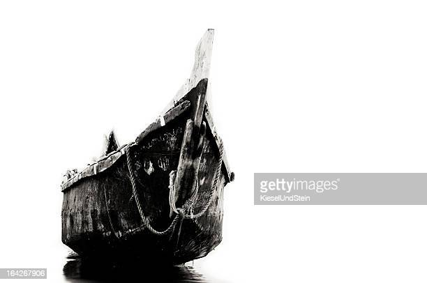 Wooden fishingboat