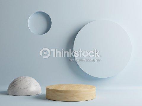 Wooden floor, minimal abstract scene : Foto de stock