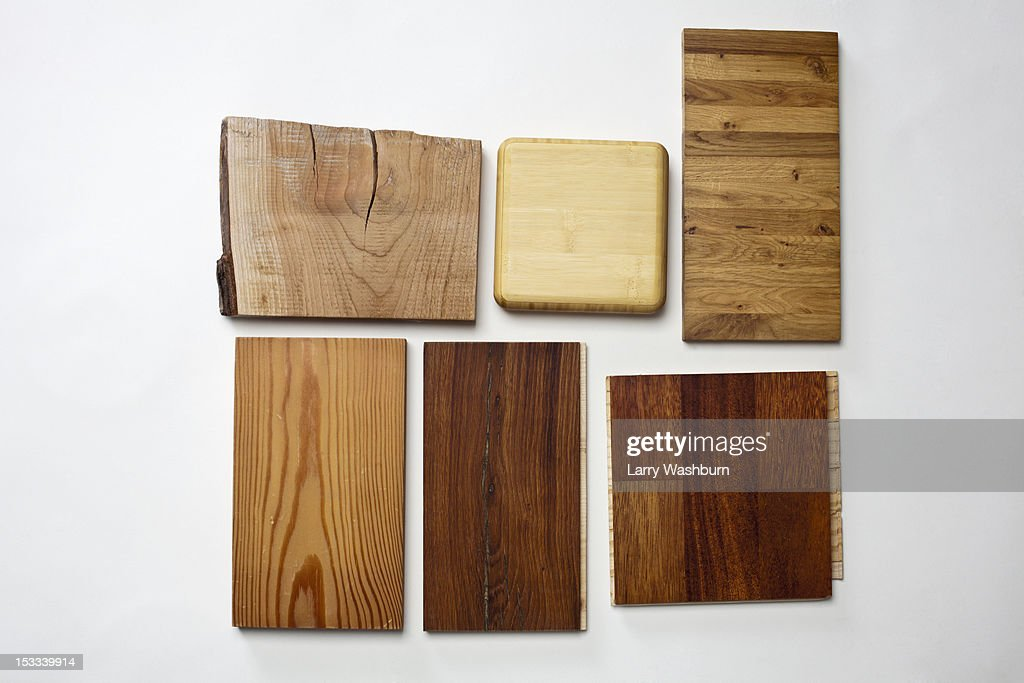 Wooden floor samples