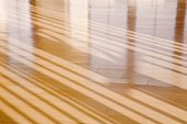 Wooden floor with shadows