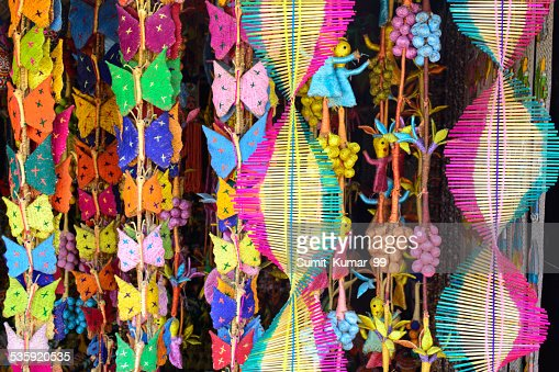 Wooden Handicrafts : Stock Photo
