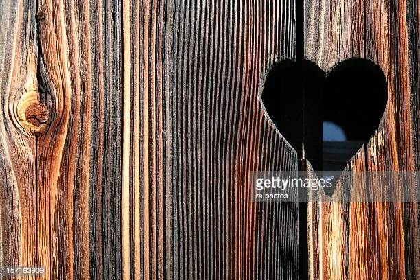Cuore in legno