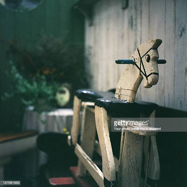 Wooden horse ride