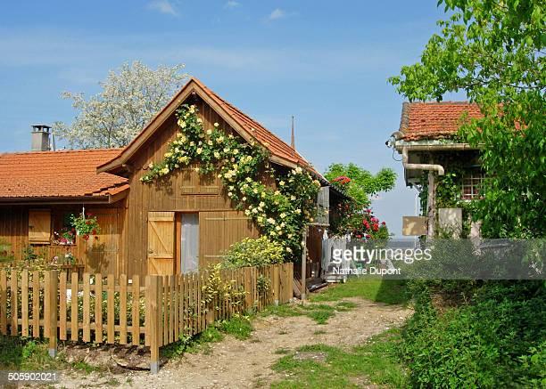 Wooden house in Cap Ferret