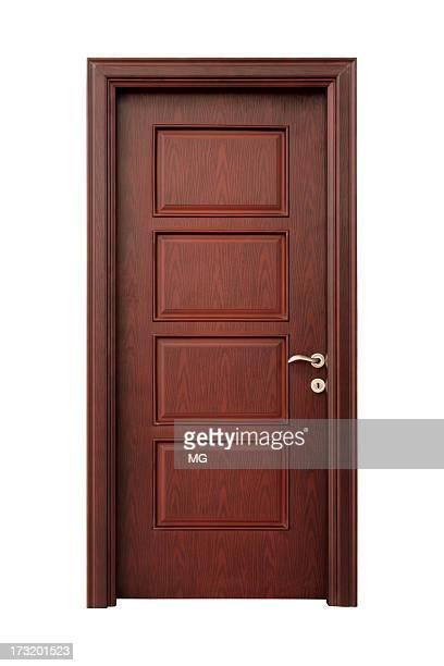 Intérieur en bois de porte